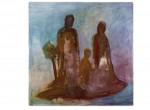 Familieninsel, 200 x 200 cm, Eitempera/Leinwand, 2007