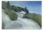 Strasse über die Berge, 130 x 92 cm, Oel/Leinwand, 2011