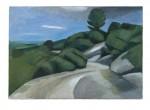Strasse über die Berge, 110 x 80 cm, Oel/Leinwand, 2011
