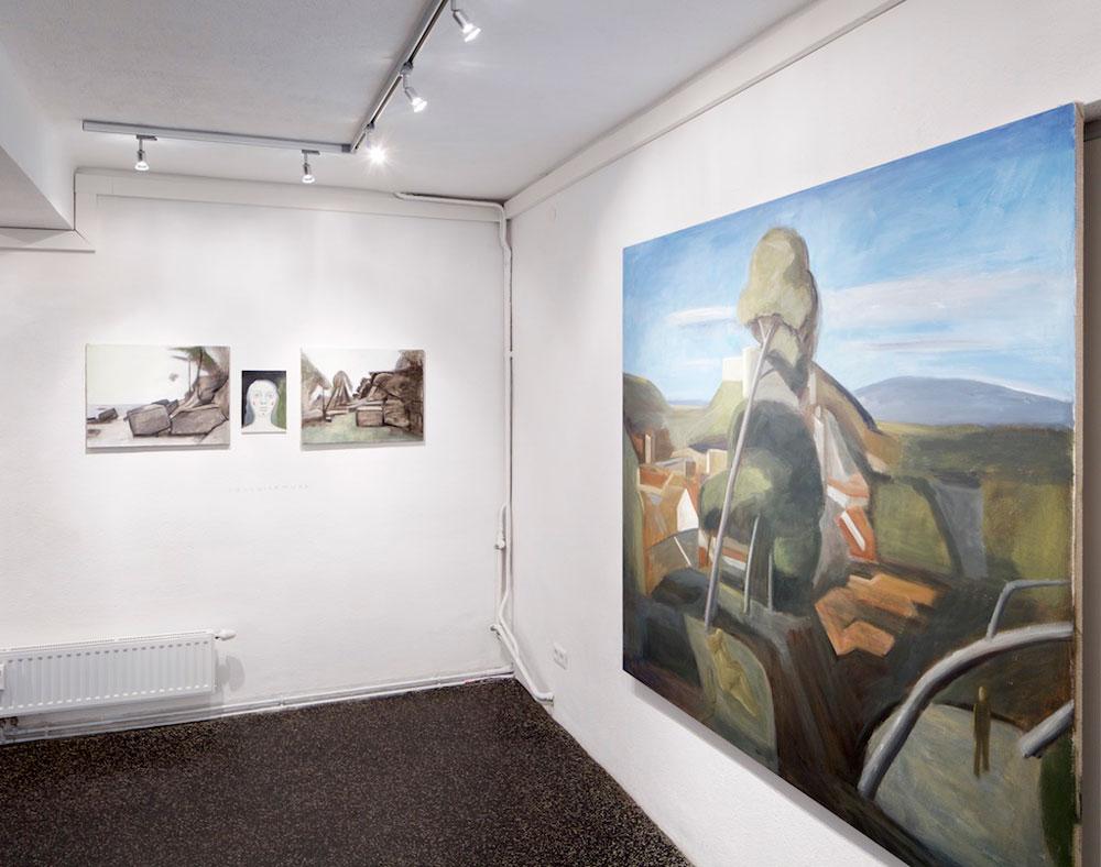Ritterroman, Ausstellungansicht. Foto: David Schreyer