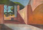 Ostia antica 01, 145 x 100 cm, Öl auf Leinwand, 2013