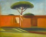 Ostia antica 07, 100 x 81 cm, Öl auf Leinwand, 2013