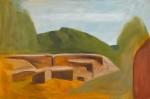 San Guliano 02 120 x 80 cm, Öl auf Leinwand, 2014