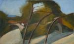 Villeneuf 04, 30 x 50 cm, Öl auf Leinwand, 2013