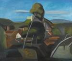 Villneuf groß, 200 x 170 cm, Öl auf Leinwand, 2013